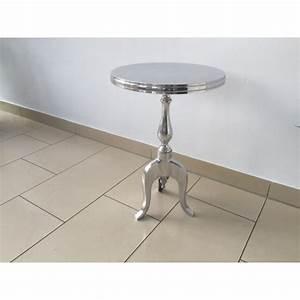 Beistelltisch Silber Rund : beistelltisch rund silber metall barock beistelltisch 35 cm ~ Indierocktalk.com Haus und Dekorationen