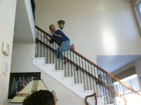 Sliding The Banister by 10 Grandmas Who Are More Badass Than You Bored Panda
