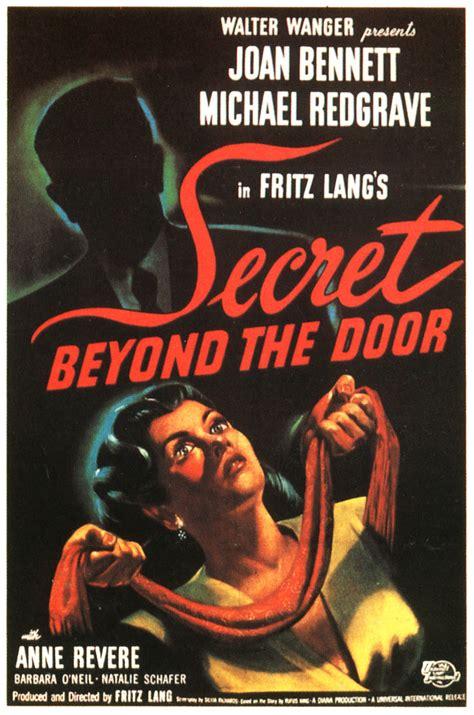 le secret derri 232 re la porte de fritz lang 1947 analyse et critique du dvdclassik