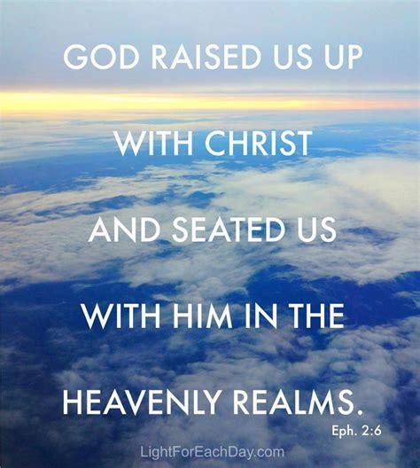 god raised    christ ephesians