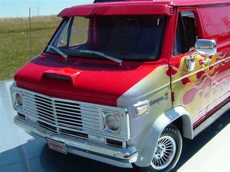 chevy custom van highway  diecast cars