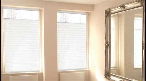 cordless top  bottom  pleated shades youtube