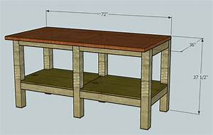 good for jobless: Detail Simpson strong tie workbench plans