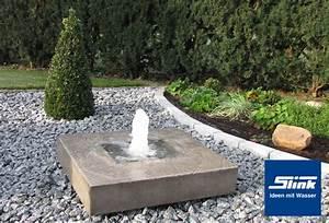 gartenbrunnen elemento mit feuerstelle online kaufen With feuerstelle garten mit balkon lampions solar