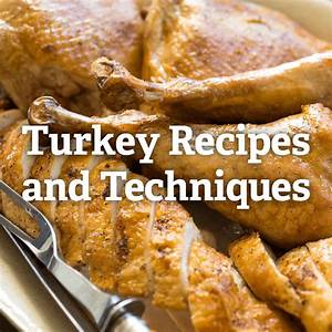 Thanksgiving Turkey Recipes And Techniques