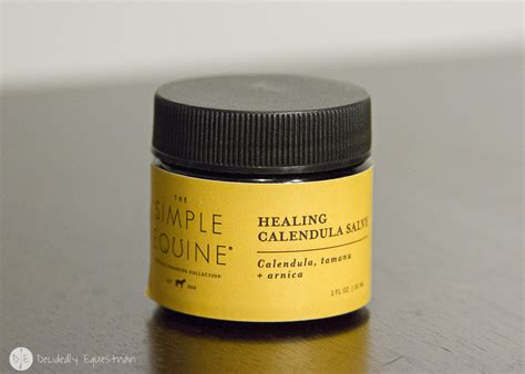 The Simple Equine Healing Calendula Salve Review