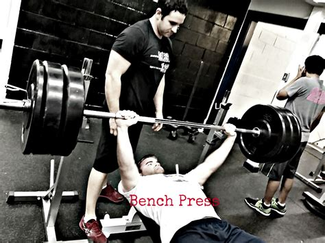 Bench Press And Dips  Crossfit Tidal Wave