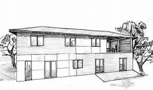 Maison Japonaise Dessin : plan maison 160 m tage ooreka ~ Melissatoandfro.com Idées de Décoration