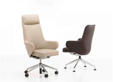 mobilier bureau qu饕ec fauteuil de direction en cuir skape highback design par antonio citterio meuble et décoration marseille mobilier design contemporain