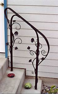 Outside handrails for stairs, best images about wrought