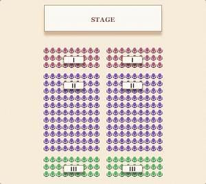 wedding ceremony seating chart brokeasshomecom With wedding ceremony seating chart