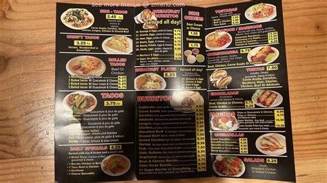 menu  california burrito restaurant pittsburg