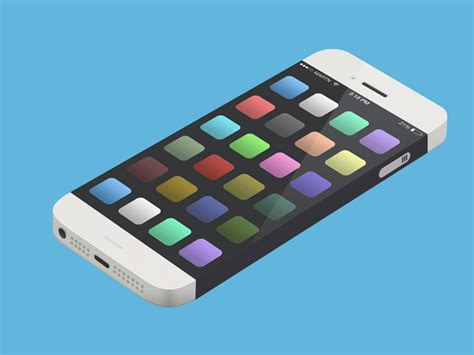 moving pictures iphone scroll gif by martijn otter dribbble