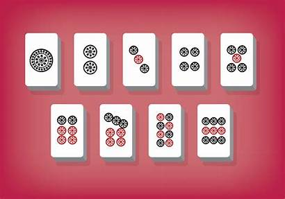Mahjong Vector Tiles Clipart Chinese Vecteezy Icon