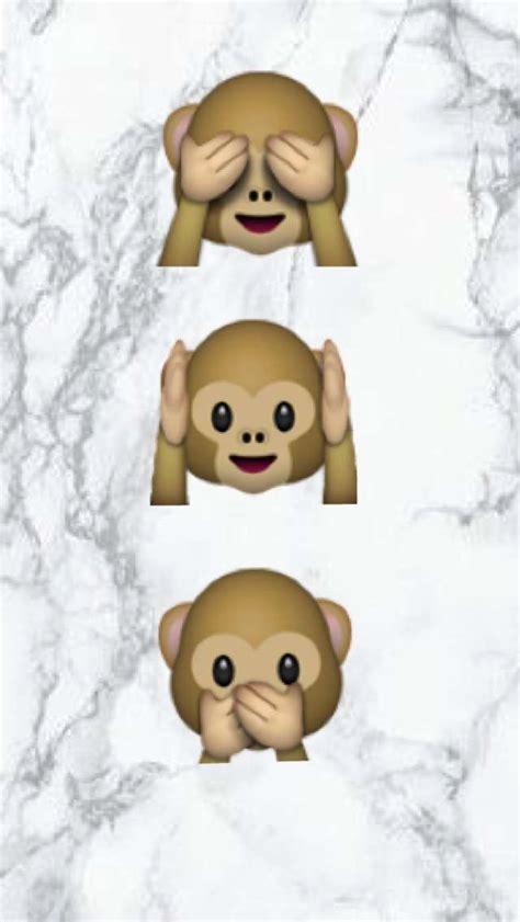 bureau mac fond d 39 écran émojis singe sur une plaque de marbre