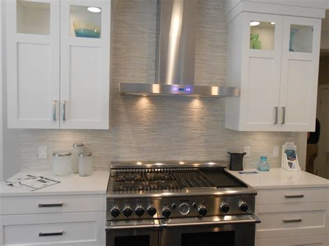 tile backsplash stacked veneer backsplash decoration ideas