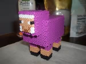 3D Perler Beads Minecraft SHEEP