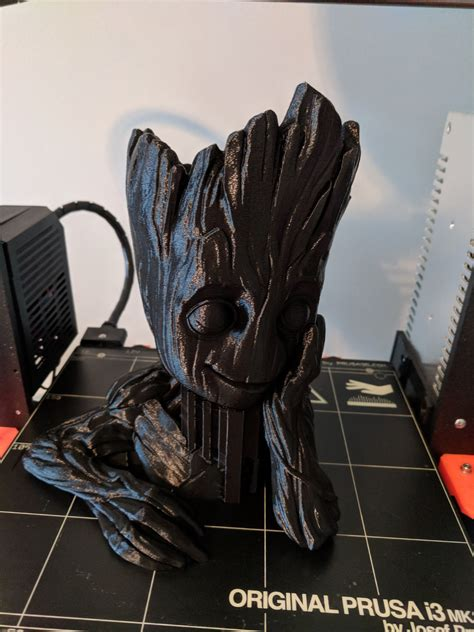 Gardens Of The Galaxy by 3d Printable Baby Groot Flower Pot Quot Gardens Quot Of The