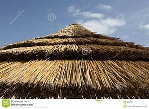 Parasol En Paille : dessus de parasol de paille image stock image 682093 ~ Teatrodelosmanantiales.com Idées de Décoration