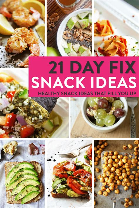 21 day fix snack ideas the bewitchin kitchen