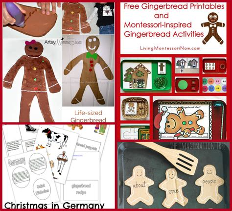 the ultimate gingerbread theme for preschool and 742 | Gingerbread Lesson Plans