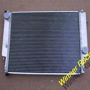High Perf Dual Core Aluminum Alloy Radiator For Bmw E36 M3