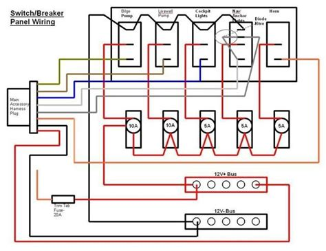 wiring diagram 12v switch panel 809 best images about electrical electronics concepts on