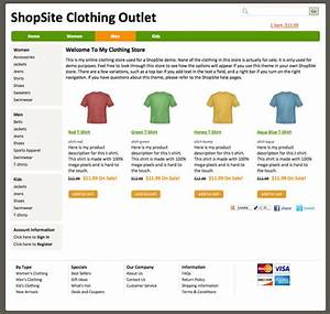 Shopsite built in ship shape template for Shopsite templates