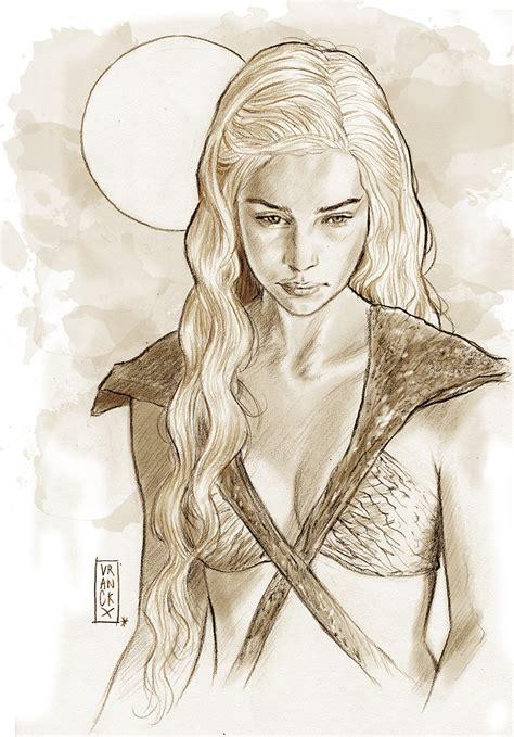 daenerys targaryen  mother  dragons  vranckx