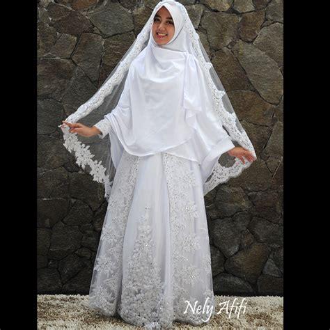 pengantin muslim jilbab pengantin rias muslimah gaun barat
