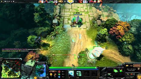 dota 2 gameplay ita pc edward1678 tidehunter offlane youtube