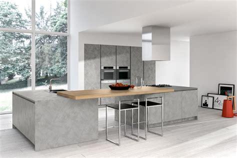 cuisine non agenc cuisine design grise sans poignées