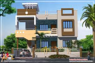 Home Design Gallery - contemporary india house plan 2185 sq ft kerala home design and floor plans