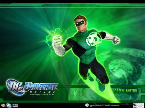 green lantern dc universe wallpaper