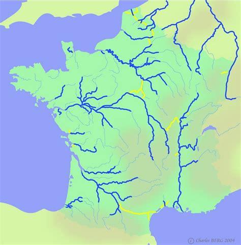 Carte De Avec Fleuves Et Rivières by Louis Becquey