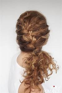Easy Everyday Curly Hairstyle Tutorials The Curly Side Braid