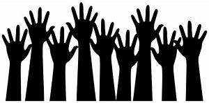 Hands raised clipart - Clipground