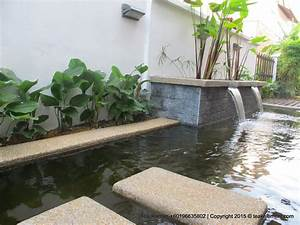 Koi pond design Specialist and contractor Malaysia Teak