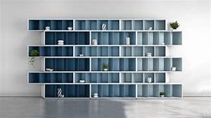 Grande Bibliothèque Murale : trinta biblioth que harmonie taupe roche bobois ~ Teatrodelosmanantiales.com Idées de Décoration