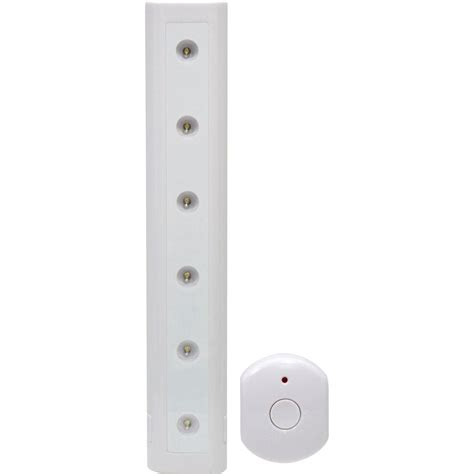ge 12 in led light with wireless remote control 17448