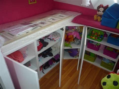 meuble cuisine ikea metod un lit enfant avec du rangement à base de meubles de