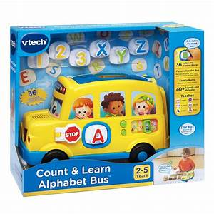 vtech count and learn alphabet bus best educational With vtech numbers and letters