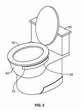 Toilet Bowl Drawing Patents Seat Step Pencil Getdrawings Google sketch template