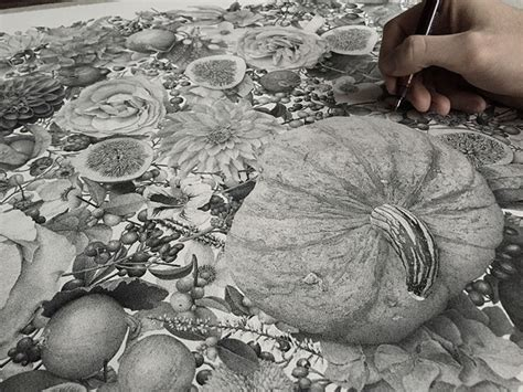 million hand inked dots  artist xavier casalta
