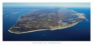Cape May Aerial Print