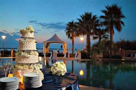 evening wedding  portofino island resort  pensacola