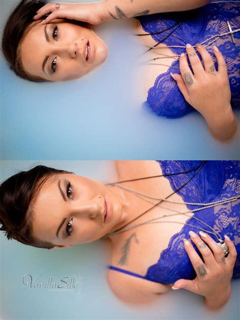 milk bath boudoir photo shoot vanilla silk photography