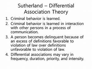 Social Learning Theory Akers Ppt Criminology Powerpoint Presentation Id 1409450