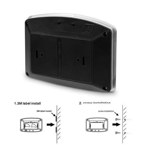 battery operated wall ls motion sensor activated led wall sconce battery operated