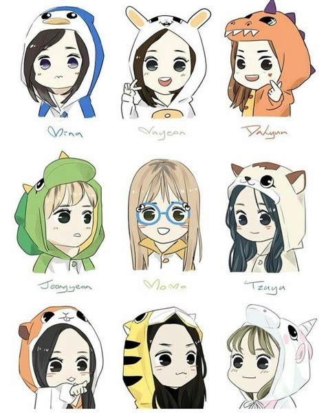 Twice Fanart Nayeon Mina Momo Dahyun Chae Jungyeon Tzuyu
